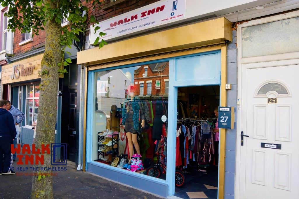 Walk INN Charity Shop Belfast